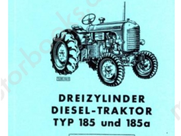 Repair instructions Steyr Type 540, 650, 40, 50, and 4WD