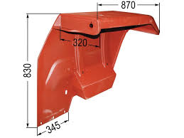 Wing , Fender, Rear MF 135