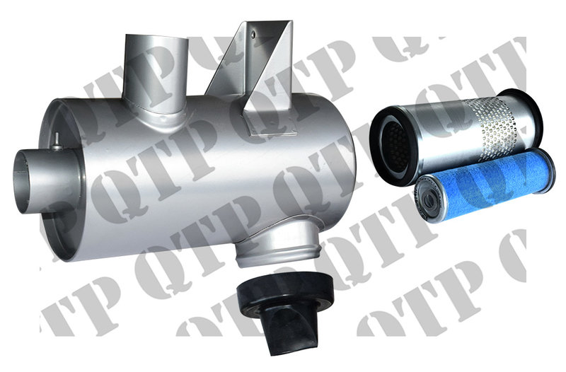 Air Cleaner assy with filters -DRY