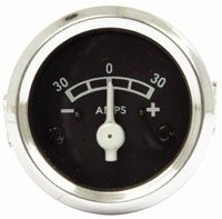 Ammeter Plastic for dash mounting