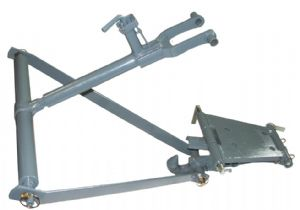 Swinging Drawbar Assembly With Pickup Hook