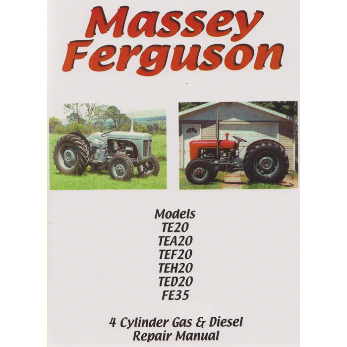 Repair instructions: Massey-Ferguson TE 20 and TE 35