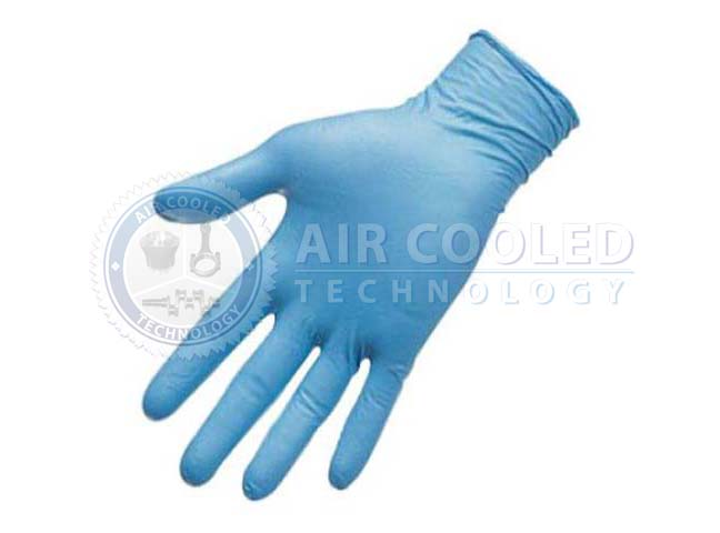 Nitrile Gloves, Blue, 100 Units