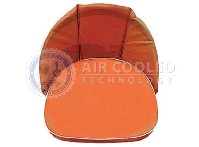 Cushion , for Tractor Seat, 30cm, rust color  42035