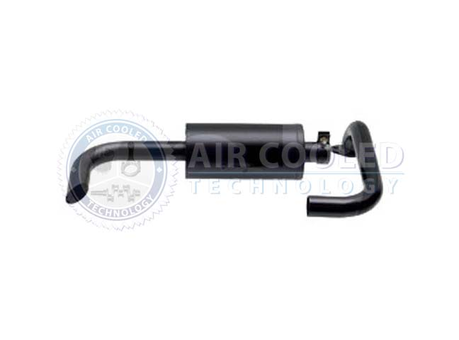 Exhaust , with bracket to engine bloc, Deutz  OEM F2L 514 42056