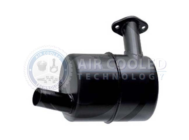 Exhaust Silencer, from manifold OEM F2L 612, F2L 712  42060
