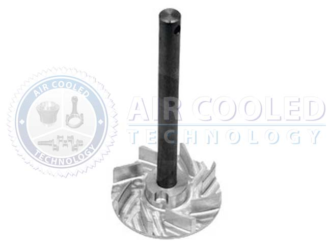 Impeller w/shaft, for water pump  49038