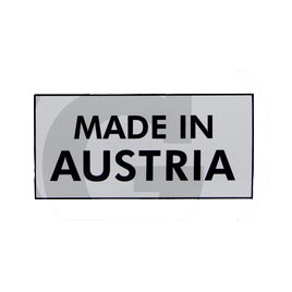 Sticker, MADE IN AUSTRIA  Steyr T80,T84,T 180, T 180A, T280A  16