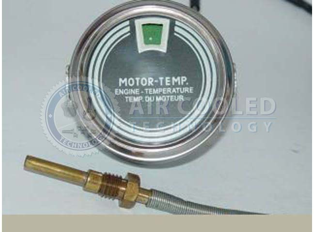 Gauge, remote thermometer, Deutz 4 series