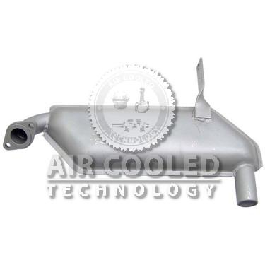 Exhaust box Standard 2 Cyl's  200601000