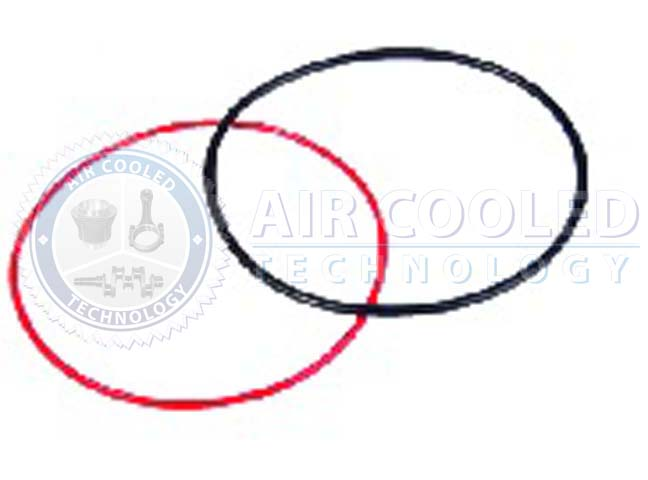 Sealing Ring, Cylinder, Black