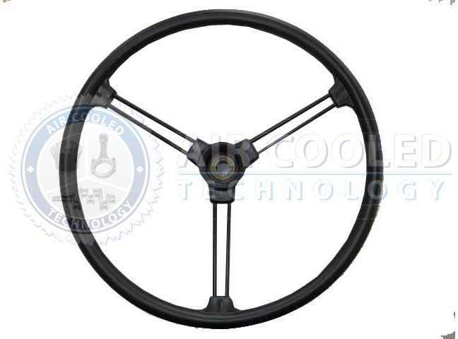 Double-spoke steering wheel