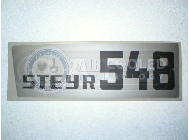 Steyr Plus Series 548 Sticker Left  286548L