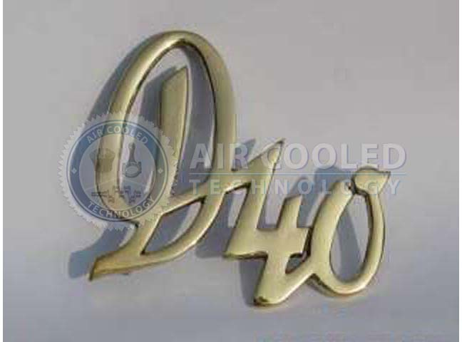 EMBLEM,Brass,TEXT,DEUTZ
