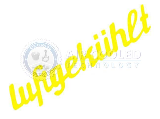 STICKER, 190 X 50 mm, yellow