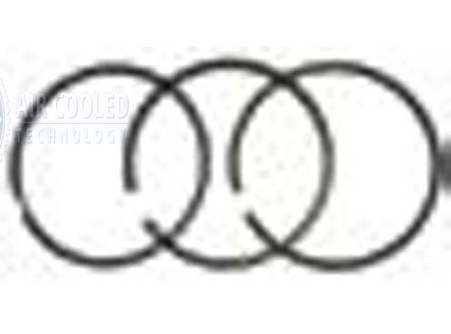 Deutz, Piston Ring Set, 3 rings, F3, F4, F6L912