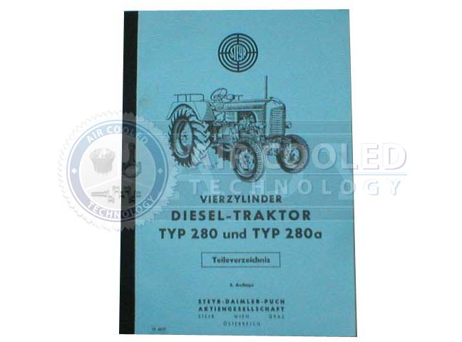 Parts Book, Parts Manual, Steyr 280 , Steyr 280a  6762394