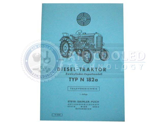 Parts Book, Parts Manual, Steyr N182a, 2 Cylinder  676512