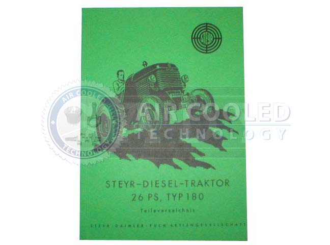 Parts Book, Parts Manual, Steyr T180 30  676865