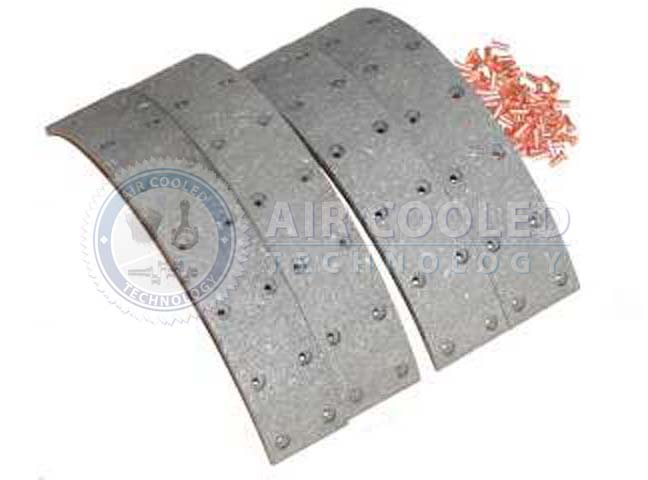 Brake Lining, Set cpt, F1L514 & F1M414, Foot Bk